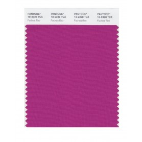 Pantone 18-2328 TCX Swatch Card Fuchsia Red