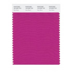 Pantone 18-2336 TCX Swatch Card Very Berry