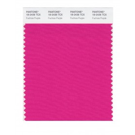 Pantone 18-2436 TCX Swatch Card Fuschia Purple