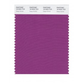Pantone 18-3022 TCX Swatch Card Deep Orchid