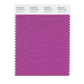 Pantone 18-3027 TCX Swatch Card Purple Orchid