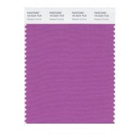 Pantone 18-3224 TCX Swatch Card Radiant Orchid