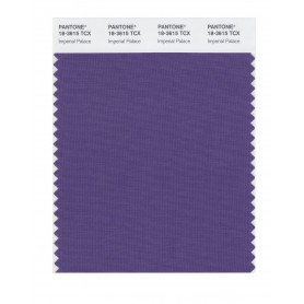 Pantone 18-3615 TCX Swatch Card Imperial Palace