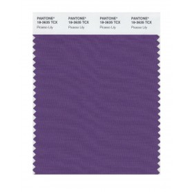 Pantone 18-3635 TCX Swatch Card Picasso Lily