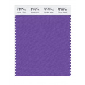 Pantone 18-3737 TCX Swatch Card Passion Flower
