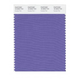 Pantone 18-3833 TCX Swatch Card Dusted Peri
