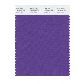 Pantone 18-3838 TCX Swatch Card Ultra Violet