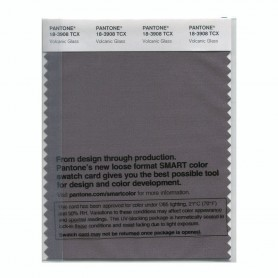 Pantone 18-3908 TCX Swatch Card Volcanic Glass