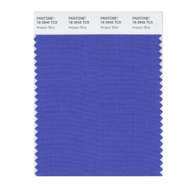 Pantone 18-3945 TCX Swatch Card Amparo Blue
