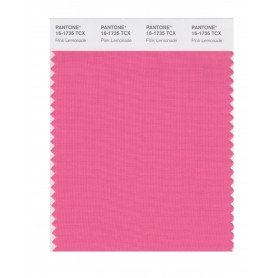Pantone 16-1735 TCX Swatch Card Pink Lemonade