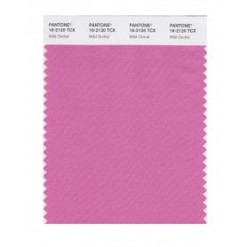 Pantone 16-2120 TCX Swatch Card Wild Orchid
