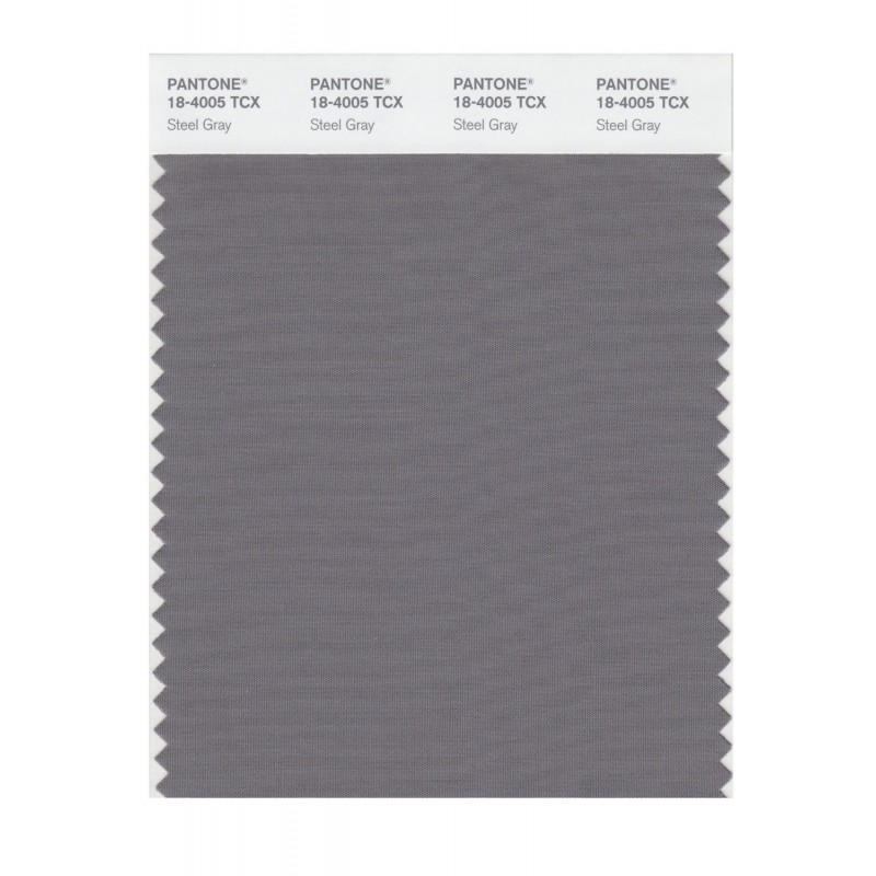Pantone 18-4005 TCX Swatch Card Smoked Pearl