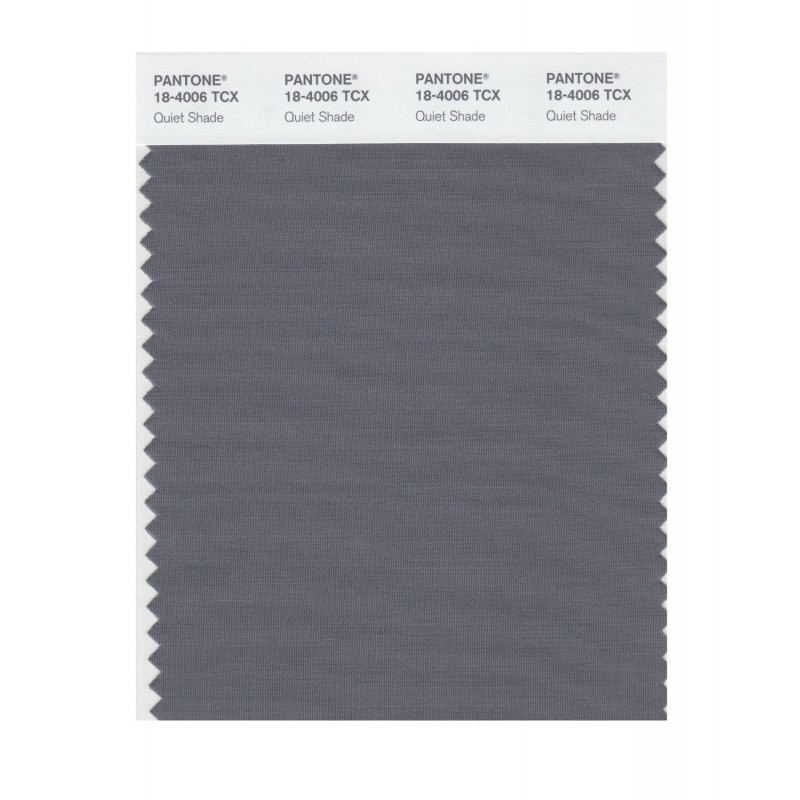 Pantone 18-4006 TCX Swatch Card Smoked Pearl