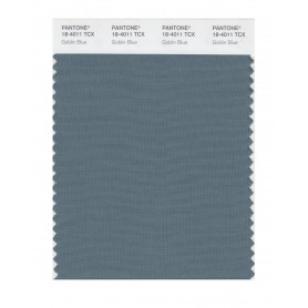 Pantone 18-4011 TCX Swatch Card Goblin Blue