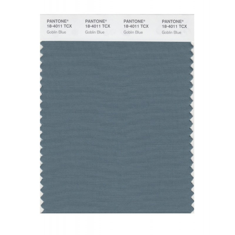 Pantone 18-4011 TCX Swatch Card Smoked Pearl