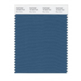 Pantone 18-4023 TCX Swatch Card Blue Ashes