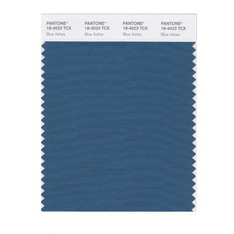 Pantone 18-4023 TCX Swatch Card Smoked Pearl