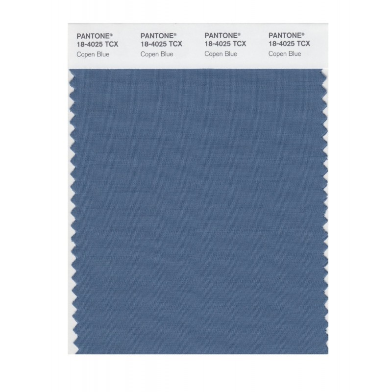 Pantone 18-4025 TCX Swatch Card Smoked Pearl