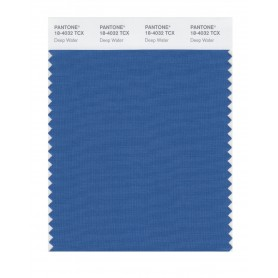 Pantone 18-4032 TCX Swatch Card Deep Water