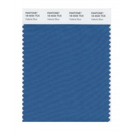 Pantone 18-4034 TCX Swatch Card Vallarta Blue