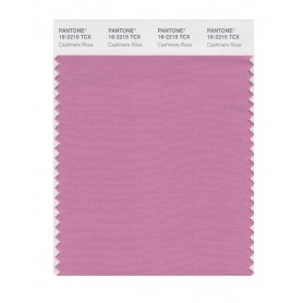 Pantone 16-2215 TCX Swatch Card Cashmere Rose