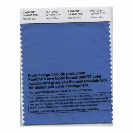 Pantone 18-4048 TCX Swatch Card Smoked Pearl