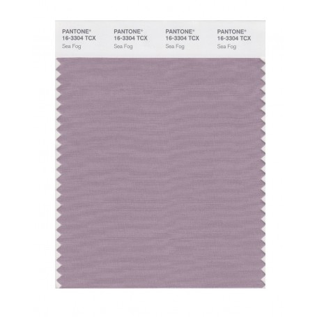 Pantone 16-3304 TCX Swatch Card Sea Fog