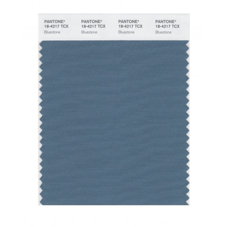 Pantone 18-4217 TCX Swatch Card Smoked Pearl