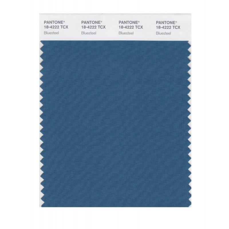 Pantone 18-4222 TCX Swatch Card Smoked Pearl