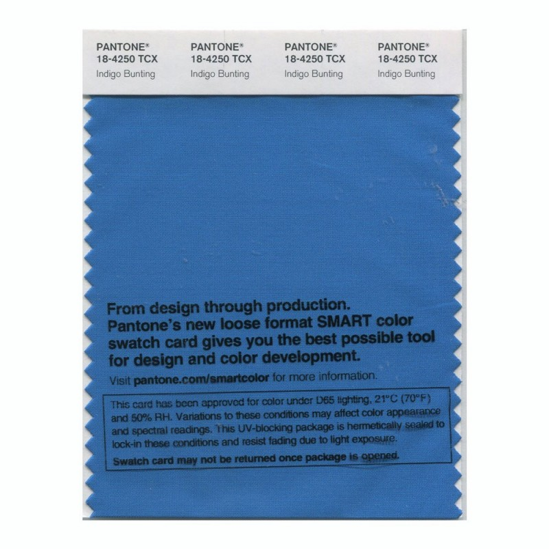Pantone 18-4250 TCX Swatch Card Smoked Pearl