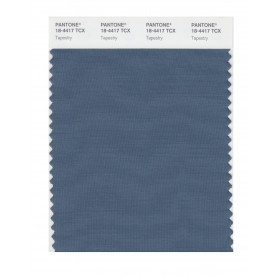 Pantone 18-4417 TCX Swatch Card Tapestry