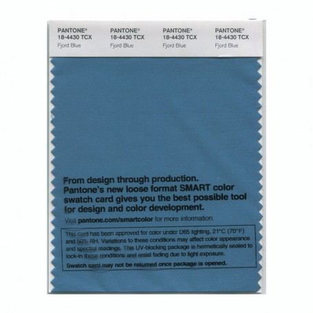 Pantone 18-4430 TCX Swatch Card Smoked Pearl