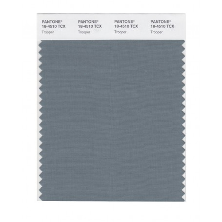 Pantone 18-4510 TCX Swatch Card Smoked Pearl