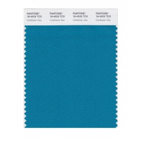 Pantone 18-4525 TCX Swatch Card Caribbean Sea