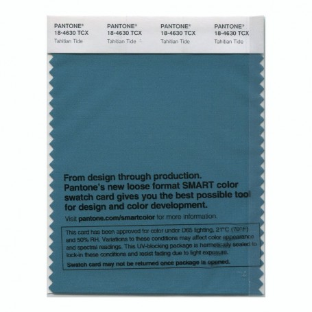 Pantone 18-4630 TCX Swatch Card Smoked Pearl
