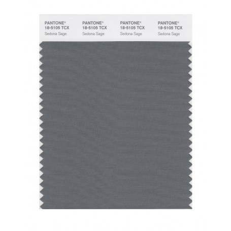 Pantone 18-5105 TCX Swatch Card Smoked Pearl