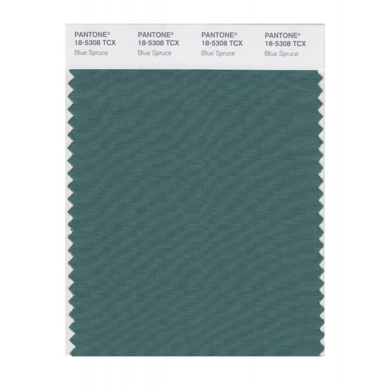 Pantone 18-5308 TCX Swatch Card Smoked Pearl