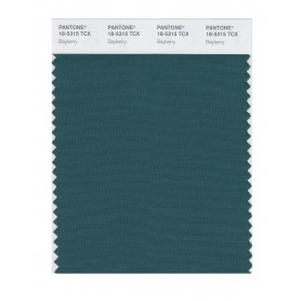 Pantone 18-5315 TCX Swatch Card Bayberry