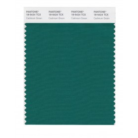 Pantone 18-5424 TCX Swatch Card Cadmium Green