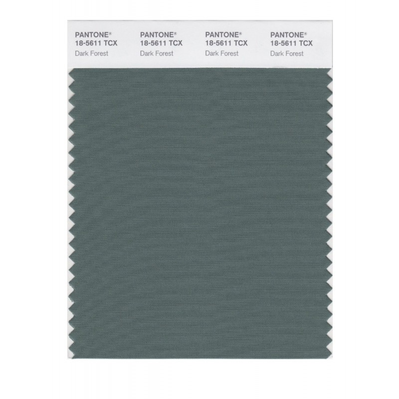 Pantone 18-5611 TCX Swatch Card Smoked Pearl