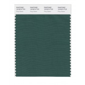 Pantone 18-5616 TCX Swatch Card Posy Green