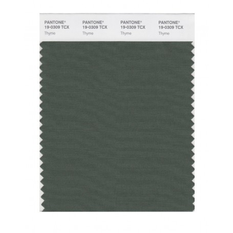 Pantone 19-0309 TCX Swatch Card Thyme