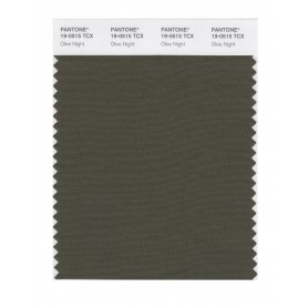 Pantone 19-0515 TCX Swatch Card Olive Night