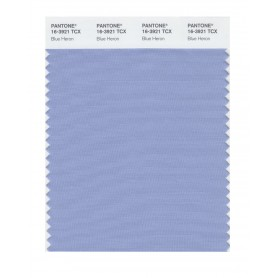 Pantone 16-3921 TCX Swatch Card Blue Heron
