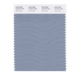 Pantone 16-4013 TCX Swatch Card Ashley Blue