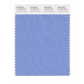 Pantone 16-4020 TCX Swatch Card Della Rob Blue