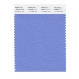 Pantone 16-4031 TCX Swatch Card Cornflower Blue