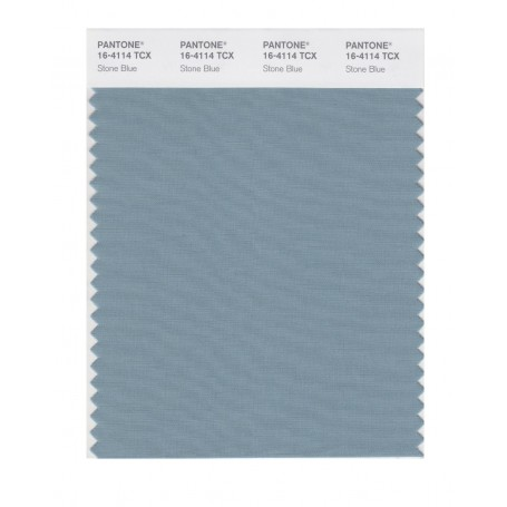 Pantone 16-4114 TCX Swatch Card Stone Blue
