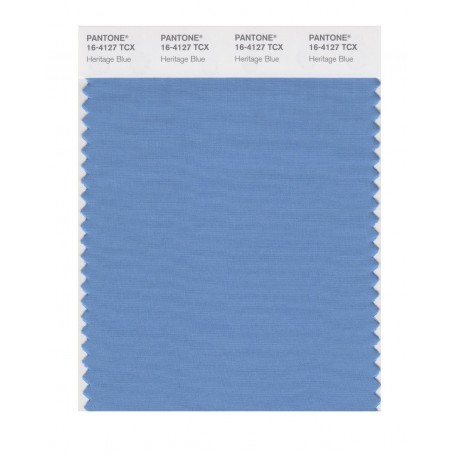Pantone 16-4127 TCX Swatch Card Heritage Blue