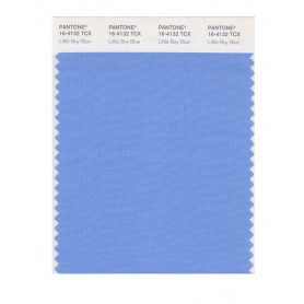 Pantone 16-4132 TCX Swatch Card Little Boy Blue